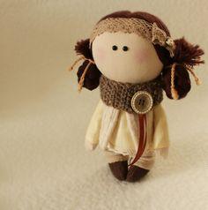Rag doll handmade bambino giochi panno bambola di DollsTalismans