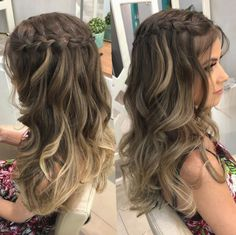 hairstyles prom videos hairlook braids hairlook wedding braids hairlook easy braids hairlook easy pin by sara lawson on hairstyle in 2019 easy hairstyles longhair pin by sara lawson on hairstyle in 2019 Hairdo For Long Hair, Braided Prom Hair, Prom Hairstyles For Long Hair, Wedding Hairstyles, Prom Hair With Braid, Hairstyles For Graduation, Long Prom Hair, Teenage Hairstyles, Box Braids Hairstyles