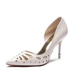 Lady Frühling Sommer sexy Heels aushöhlen/Schuhe für Damen/Hohe wilde Spitze Schuhe-A Fußlänge=22.3CM(8.8Inch)
