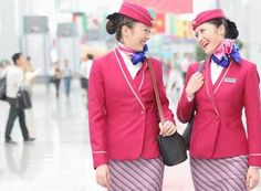 CSAIR China Southern Airlines Flight Attendants