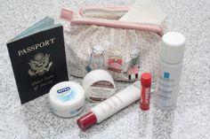 conseils beauté pour la peau pour les longs voyages en avion :)