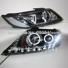 488.88$  Watch here - http://alijjt.worldwells.pw/go.php?t=612368532 - 2009-2012 LED Angel Eyes Head Lamp for Kia Sorento 488.88$