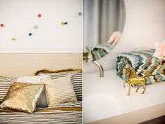 i loved this brass unicorn so much, that i went & bought one on etsy // @Bri Emery's loft, photographed by @Bonnie Tsang