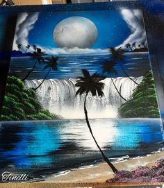 Spray paint art- Joe Tinelli -HolyTerrorSprayArt