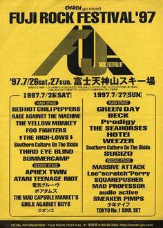"History Image on Twitter: ""フジロックフェスティバル第一回 1997年 FUJI ROCK FESTIVAL '97 https://t.co/PV6WGNdcBO"""