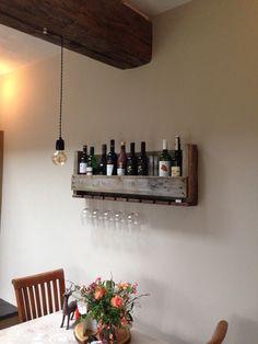 Pallet wijnrek