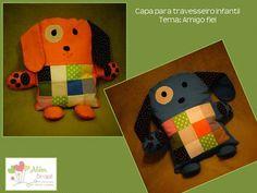 Travesseiro infantil - cachorrinho - Além Brasil