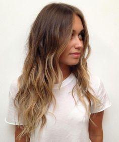 tendance coiffure beaut balayage roux balayage californien sur brune - Color Out Sur Cheveux Noir