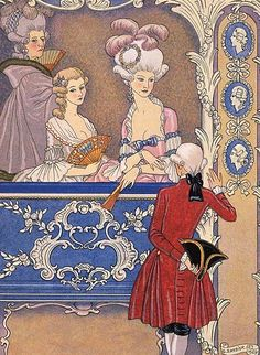 Dangerous Liaisons - the decadence of the French aristocracy - Enchanted Booklet