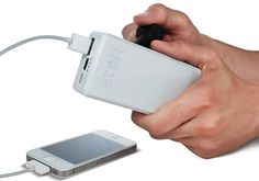 Hand-Crank Phone Charger (For When You're Without Electricity)