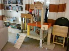 Foster House: DIY Cat Tree: Done!