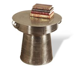 Antimo Large Drum Table Design By Interlude Home