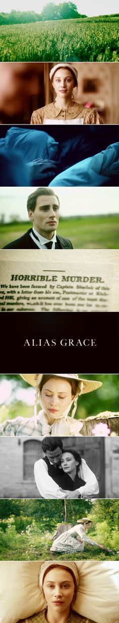 """""""All the same, murderess is a strong word to have attached to you. It has a smell to it, that word, musky and oppressive, like dead flowers in a vase. Sometimes at night I whisper it over to myself. Murderess, murderess. It rustles like a taffeta skirt across the floor. Murderer is merely brutal, it's like a hammer, or a lump of me. I'd rather be a murderess than a murderer, if those were the only choices."""" (Alias Grace, 2017)"""