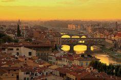 We Love Firenze - il ponte vecchio. Such a romantic city
