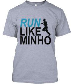 RUN LIKE MINHO - MAZE RUNNER - RUNNING SWAG