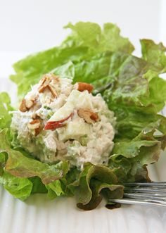 Rosemary Apple Chicken Salad