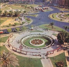 Tahrir square, circa 1960