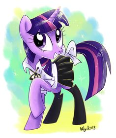 Twilight Sparkle commission by Adlynh on DeviantArt