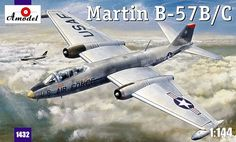 Martin B-57B / B-57C Canberra. A Model, 1/144, injection, No.1432. Price: 10,98 GBP.