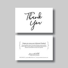 Instant business thank you cards editable pdf printable packaging this listing is for a digital file for a personalized thank you card 4x6inch arbonne businessarbonne logopersonalized thank you cardsbaby reheart Images