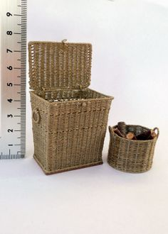 1:12 scale basketry and other things.
