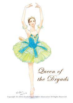 Ballerina Art, Ballet Art, Ballet Dance, Ballet Costumes, Dance Costumes, Ballerina Illustration, Ballet Silhouette, Art Tutorials, Art Girl