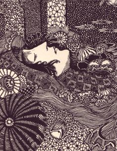 Harry Clarke's Illustration for Poe's Tales Of Mystery And Imagination