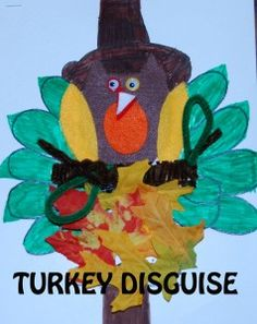 Disguise a Turkey - #preschool #kindergarten #homeschooling