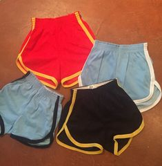 Awesome high waisted deadstock vintage basketball shorts, available in several…