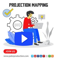 Projection-Mapping !!! Have a Project in Mind? * Please contact us :  - Whatsapp number: +212694173872 - contact@jaderproduction.com - www.jaderproduction.com… Projection Mapping, How To Memorize Things, Mindfulness, Make It Yourself, Activities, 3d, Number, Projects, Fictional Characters