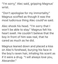Shadowhunters Series, Shadowhunters The Mortal Instruments, Malec Kiss, Magic Quotes, Magnus And Alec, Cassie Clare, Cassandra Clare Books, The Secret World, Jace Wayland