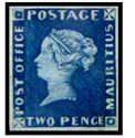 Hard to believe but this two pence Mauritius Post Office Stamp sold for over $1 Million in 1993!