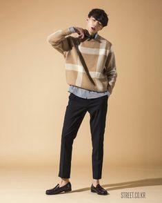 Korean street fashion, asian style, korean fashion trends, asian fashion, b Asian Men Fashion, Korean Fashion Trends, Korean Street Fashion, Boy Fashion, Mens Fashion, Fashion Ideas, Fashion Outfits, Style Fashion, Fashion Vest