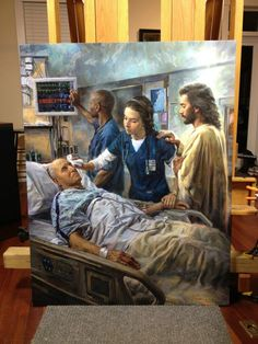"""""""The Healer"""" by Nathan Greene - to honor the nursing profession"""