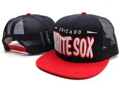 New Era MLB Chicago White Sox Mesh Snapback Hats Caps 3353! Only $8.90USD