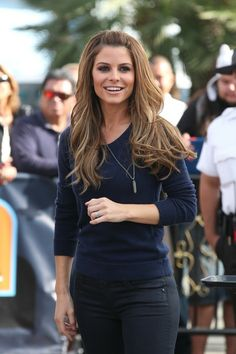 hair {Maria Menounos}