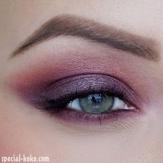Edgy & Passionate Eye Makeup for Valentine's Day. #purplelove <3 http://www.makeupbee.com/look.php?look_id=78251