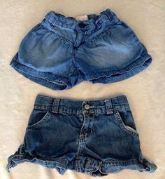 2 Old Navy Shorts (5T)