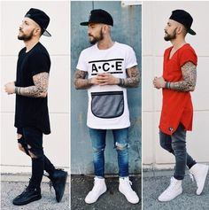 Indie Fashion, Urban Fashion, Streetwear Fashion, Mens Fashion, Fashion Outfits, Summer Swag Outfits, Swag Shirts, Boys Clothes Style, Stylish Mens Outfits