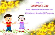 Celebrating Children's Day With  A Message