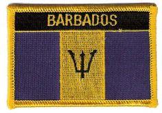 Barbados Flag Patch