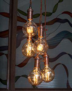 Industriel Vintage Edison pendentif appareil par bluesky3786