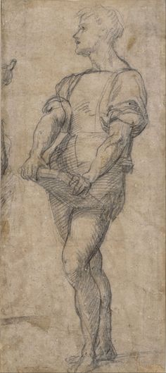 Sarto - Standing youth holding a book