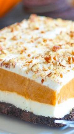 Pumpkin Dreamboat Dessert