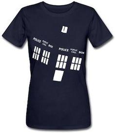 Doctor Who Angled Tardis T-Shirt