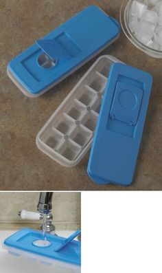Covered Ice Trays - Set of 2
