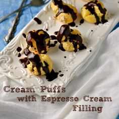 Complete instructions for a delicious Cream Puff!