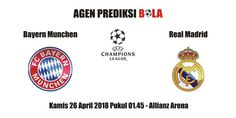Prediksi Bayern Munchen vs Real Madrid 26 April 2018