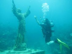 Diving the Statue of Christ of the Abyss, Key Largo will deffinatly be where I go diving in the Keys