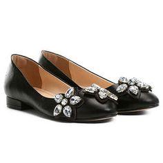 c98d16ff4f Sapatilha Shoestock Pedra Flor - Preto